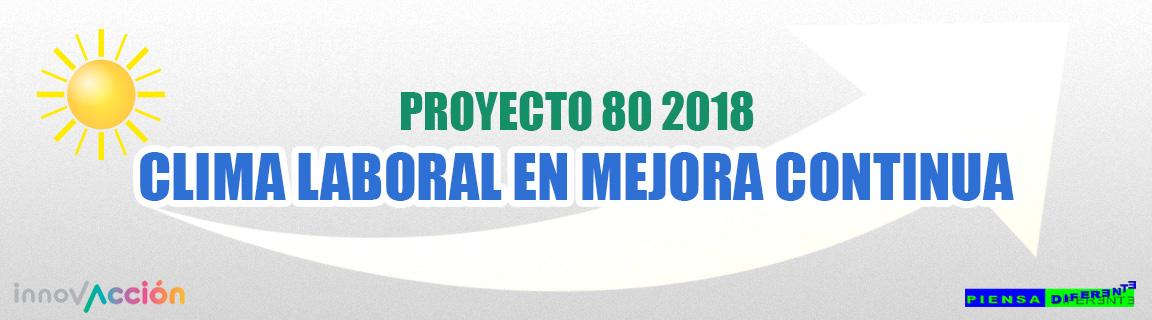 Piensa Diferente taller Proyecto 80 2018